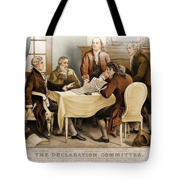 Declaration Committee 1776 Tote Bag