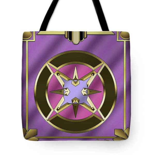 Tote Bag featuring the digital art Deco 25 - Chuck Staley by Chuck Staley