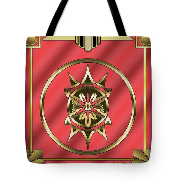 Tote Bag featuring the digital art Deco 26 - Chuck Staley by Chuck Staley