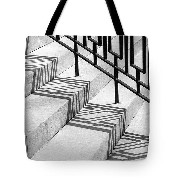 Deco Shadow Tote Bag by Rona Black