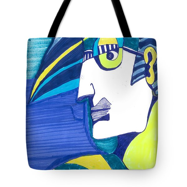 Tote Bag featuring the painting Decoman   by Don Koester