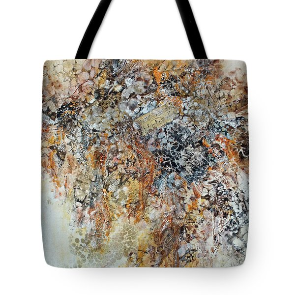 Tote Bag featuring the painting Decomposition  by Joanne Smoley