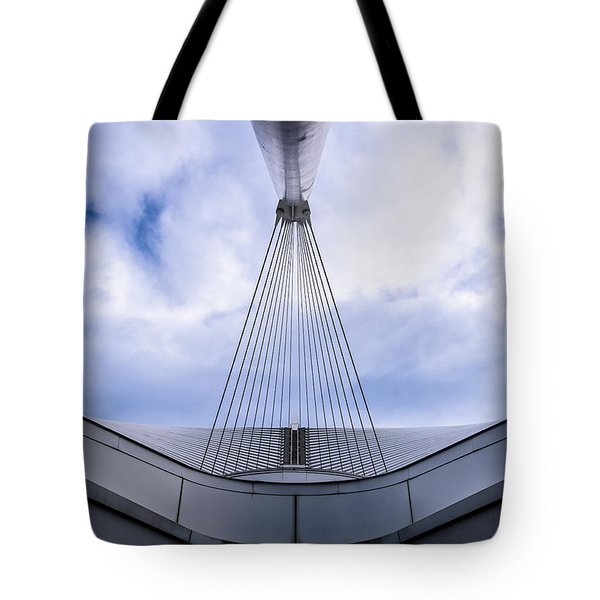 Deconstruction Theory Tote Bag by Randy Scherkenbach
