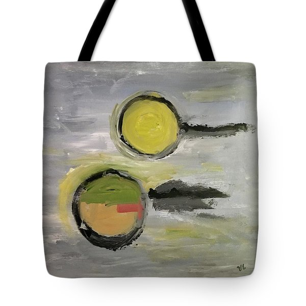 Deconstruction Tote Bag by Victoria Lakes