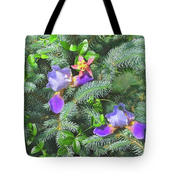 Tote Bag featuring the photograph Decorating For Spring by Nancy Lee Moran
