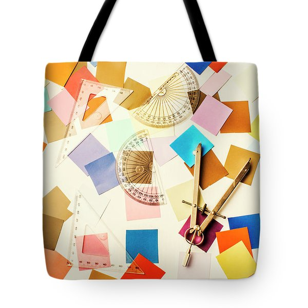Decoration In Symmetry Tote Bag