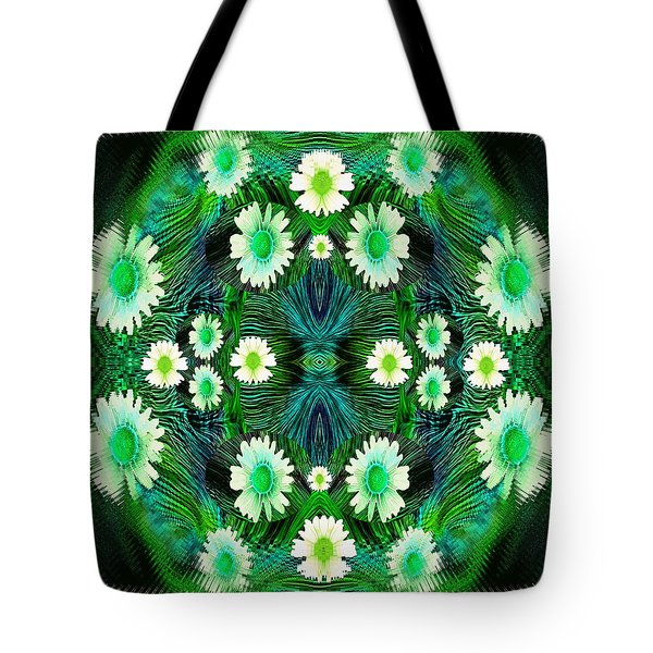 Decorative Abstract Meadow Tote Bag