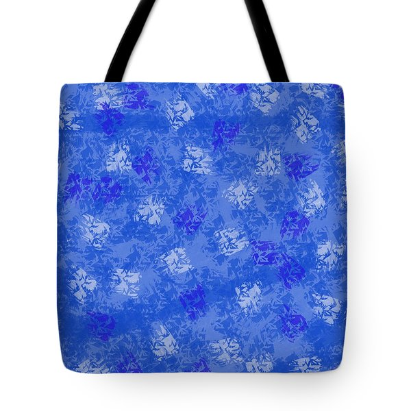 Decorative Blueprint Tote Bag