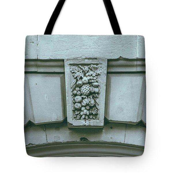 Tote Bag featuring the photograph Decorative Keystone Architecture Details L by Jacek Wojnarowski