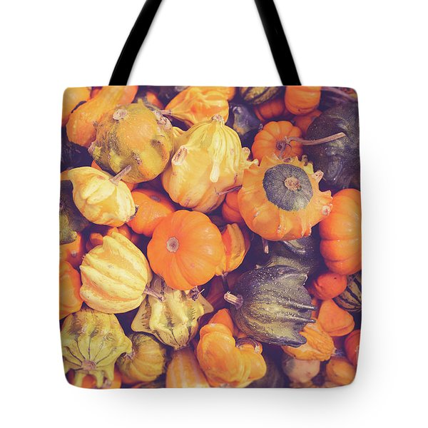 Decorative Squash And Gourds Tote Bag
