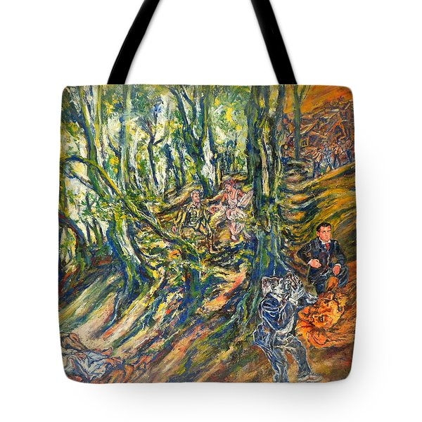 Dedicated To The Memory Of Cecil The Lion Tote Bag