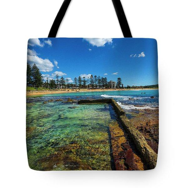Dee Why Rock Pool Tote Bag