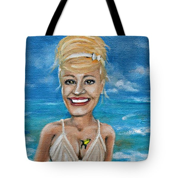 Dee With Her Bloody Mary Tote Bag