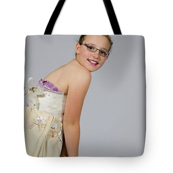 Deedee In A 1950s Style Dress Tote Bag
