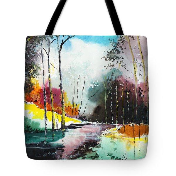 Deep 5 Tote Bag