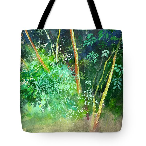 Deep Tote Bag by Anil Nene