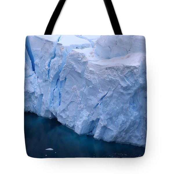Deep Blue Tote Bag by Andrei Fried