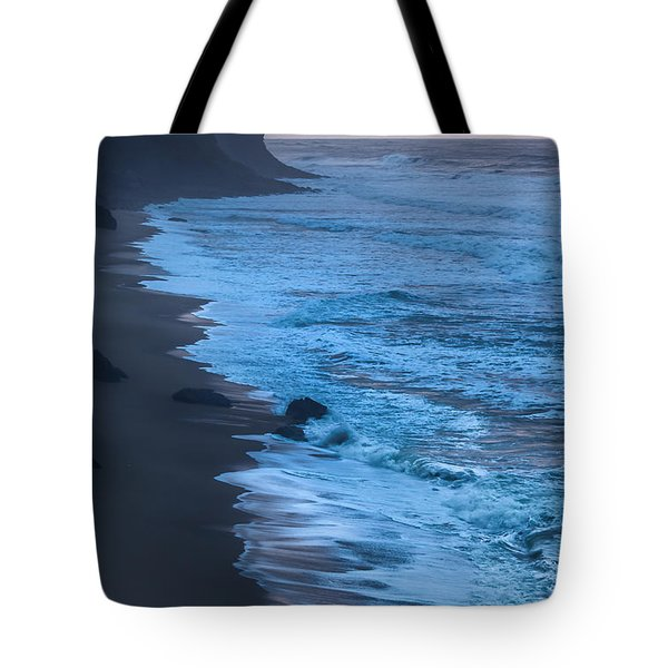 Deep Blue Tote Bag