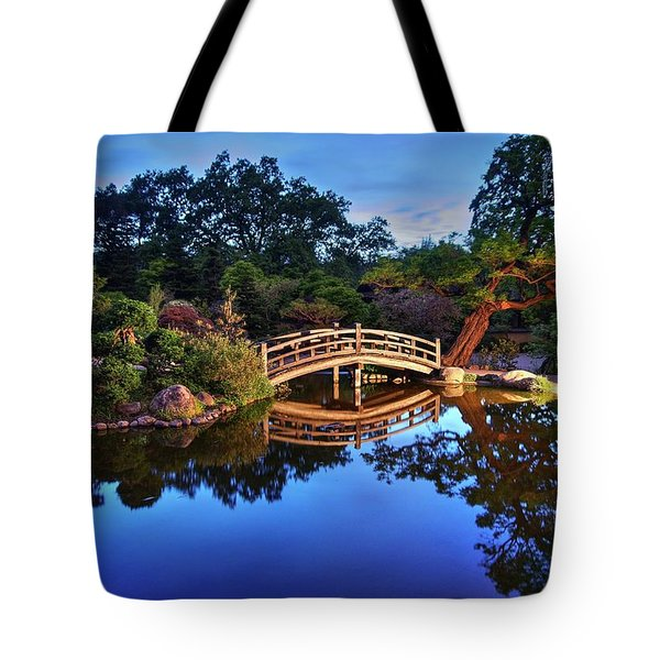 Tote Bag featuring the photograph Deep Blue, I Am Thinking Of You by Peter Thoeny