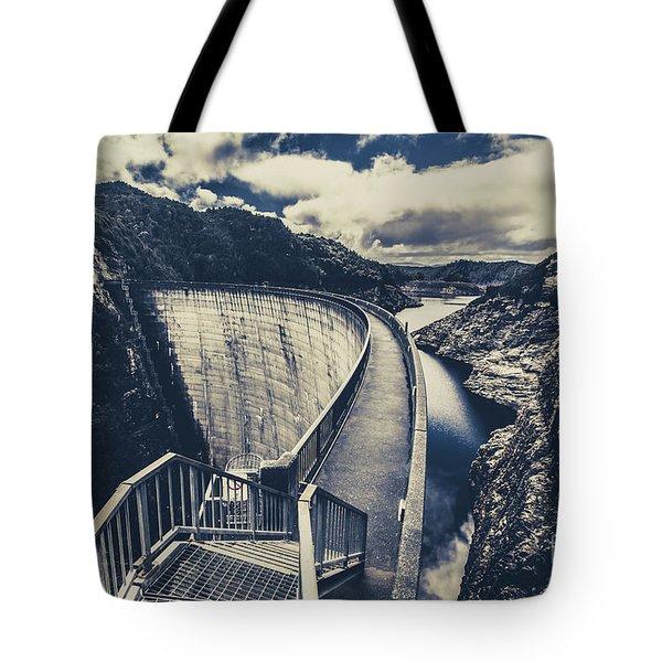 Deep Blue Ravine   Tote Bag