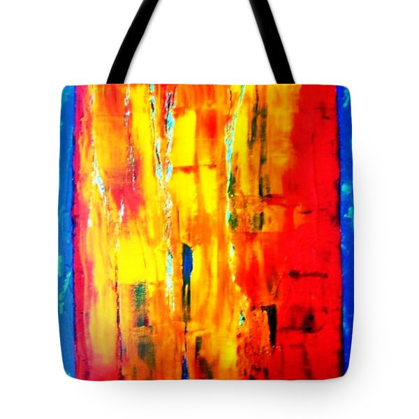 Tote Bag featuring the painting Deep Bond by Piety Dsilva