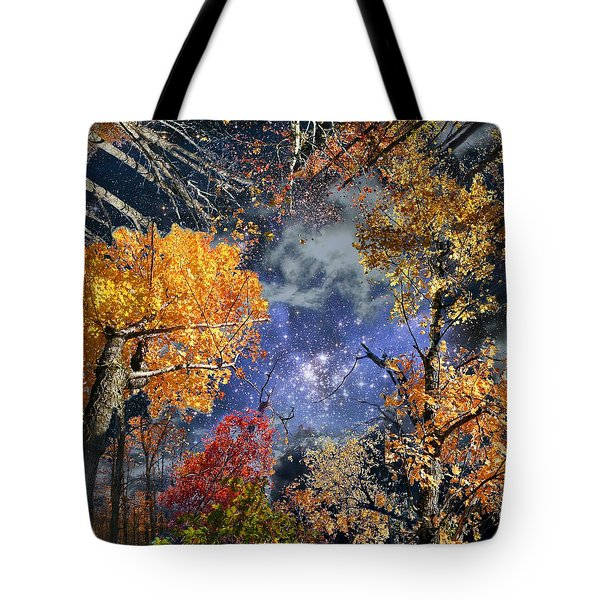 Deep Canopy Tote Bag by Dave Martsolf