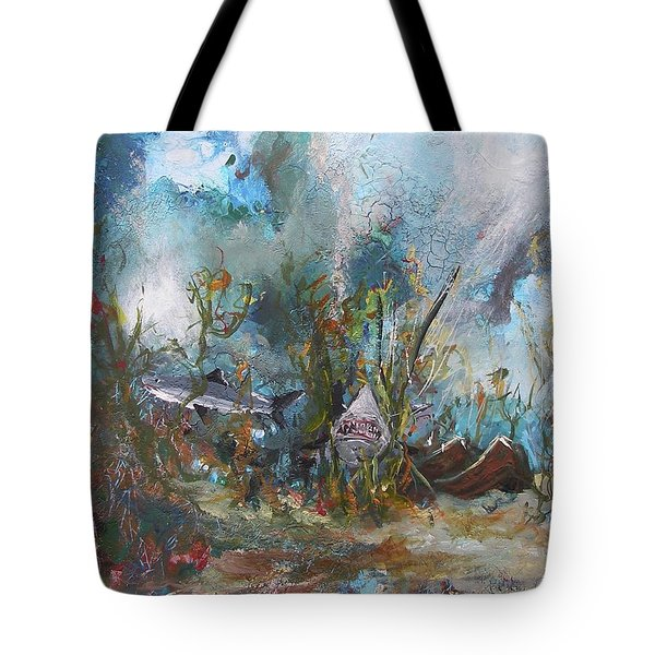 Deep Danger Tote Bag