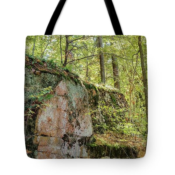 Deep Dark Forest Tote Bag