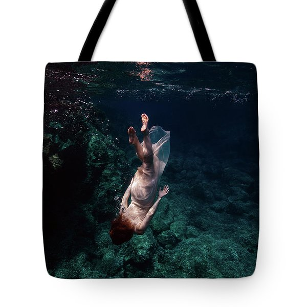 Deep Down  Tote Bag