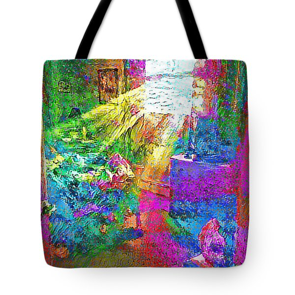 Deep Dream Tote Bag