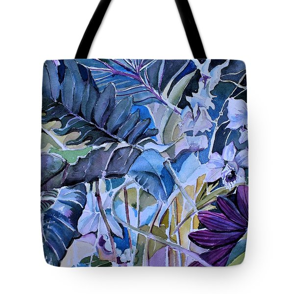 Tote Bag featuring the painting Deep Dreams by Mindy Newman