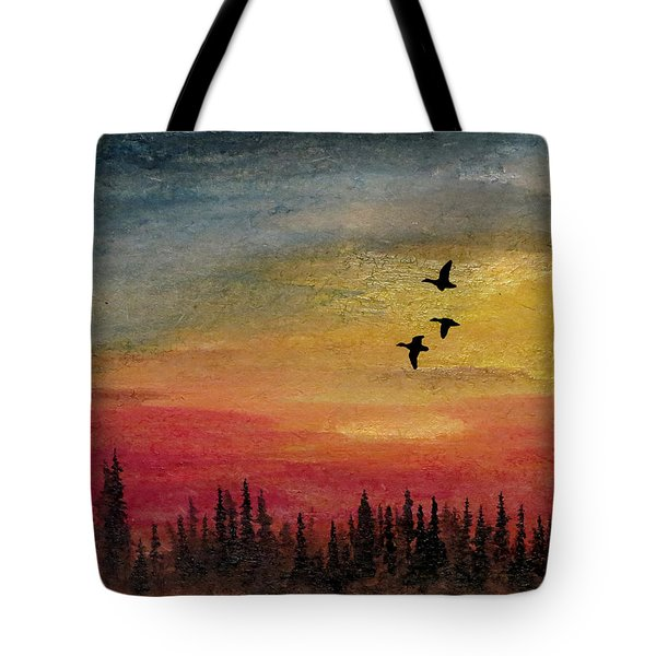 Deep Forest Tote Bag by R Kyllo