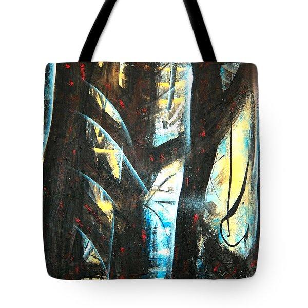 Perceptive Echo Tote Bag by Yul Olaivar