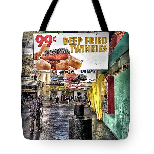 Deep Fried Twinkies Tote Bag