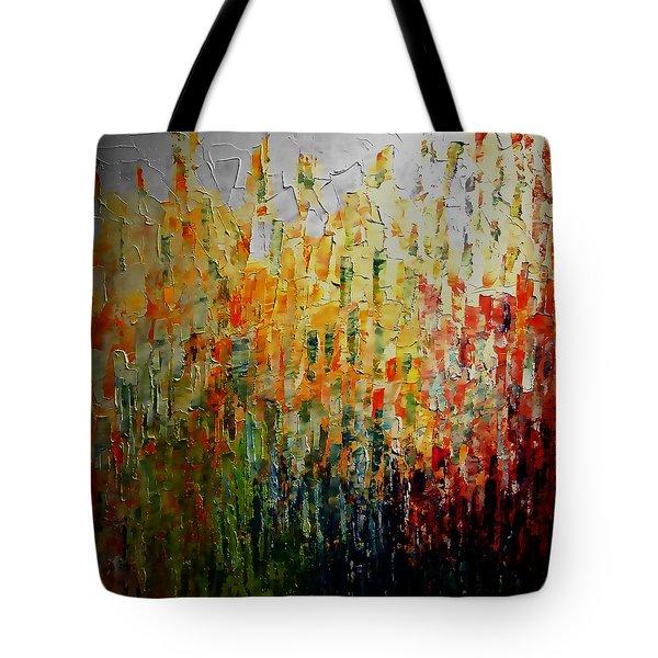 Deep Garden Tote Bag