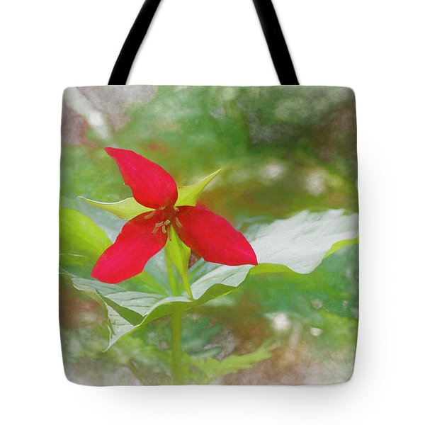 Deep In The Artistic Forest Tote Bag