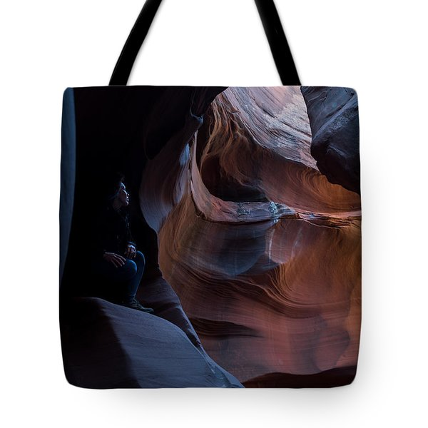 Deep In The Canyon Tote Bag