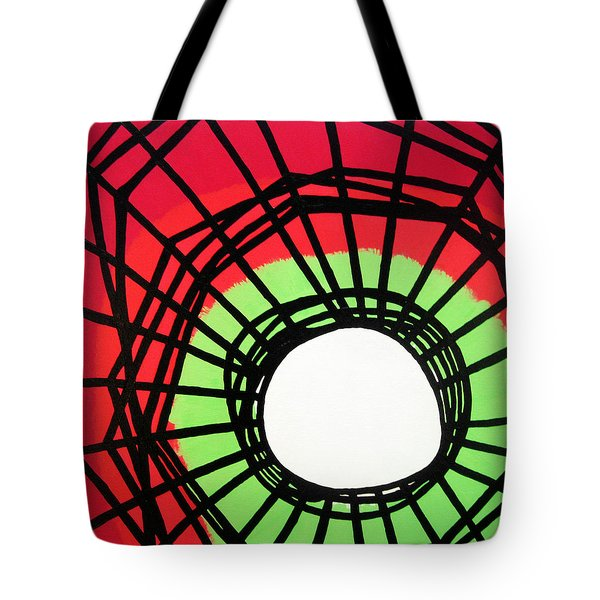 Deep In The Disturbance There May Be Light Tote Bag by Oliver Johnston