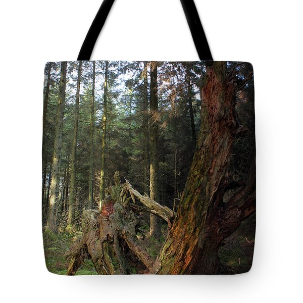 Deep In The Forest Tote Bag