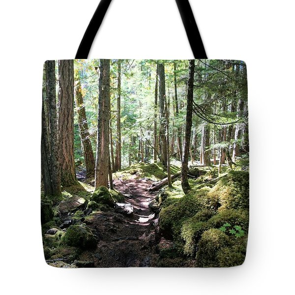 Deep In The Oregon Forest Tote Bag