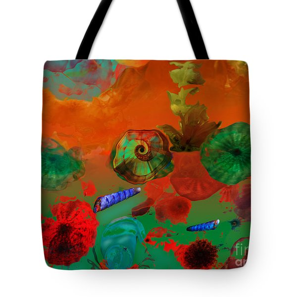 Deep In The Sea Tote Bag