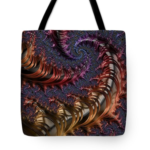 Deep In The Spirals Tote Bag