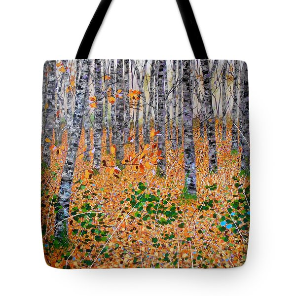 Deep In The Woods- Large Work Tote Bag