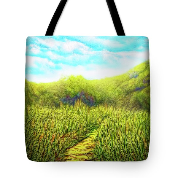 Deep Meadow Tranquility Tote Bag