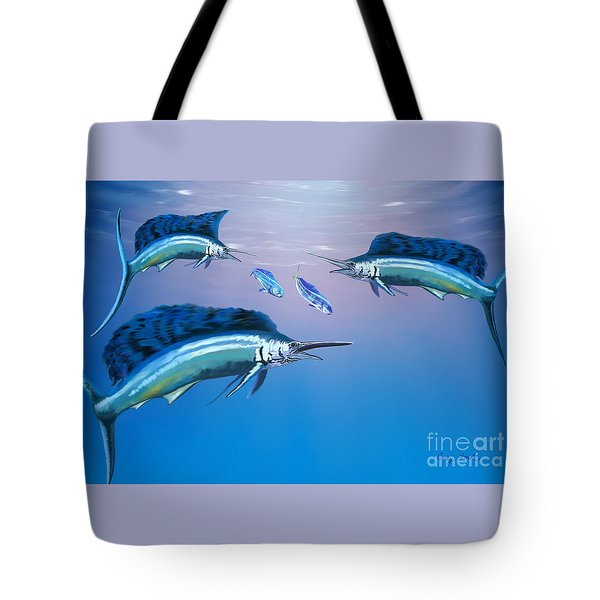 Deep Ocean Tote Bag by Corey Ford