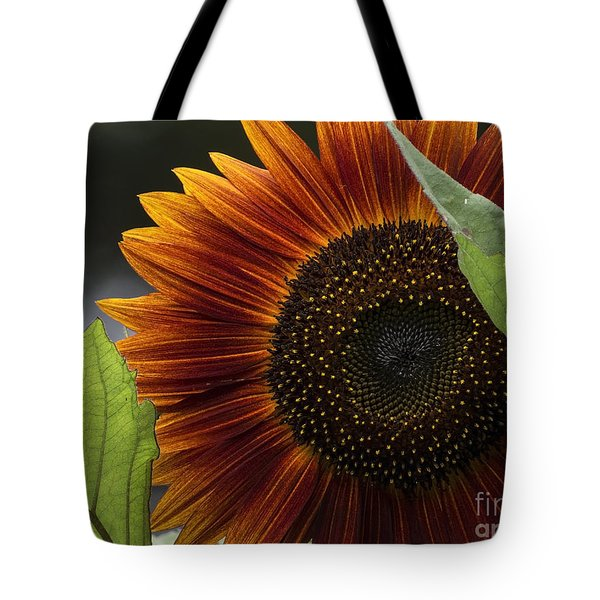 Deep Orange Tote Bag