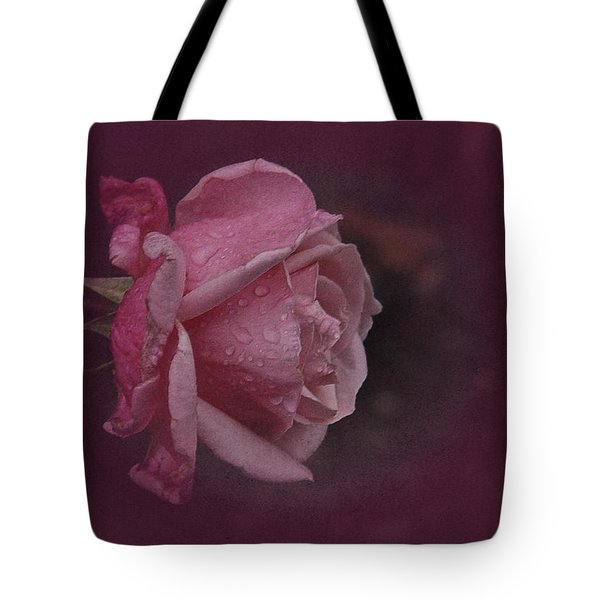 Deep Pink Nov Rose Tote Bag