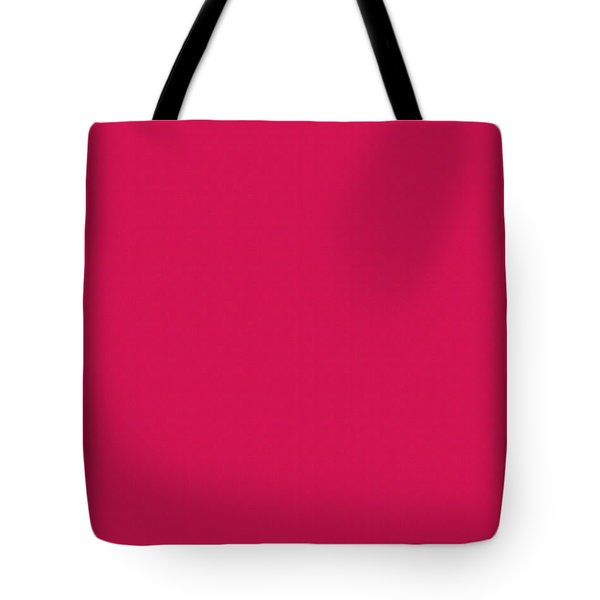 Deep Pink Textured Tote Bag