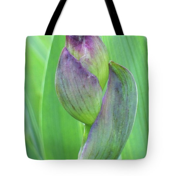 Deep Purple Promise Tote Bag