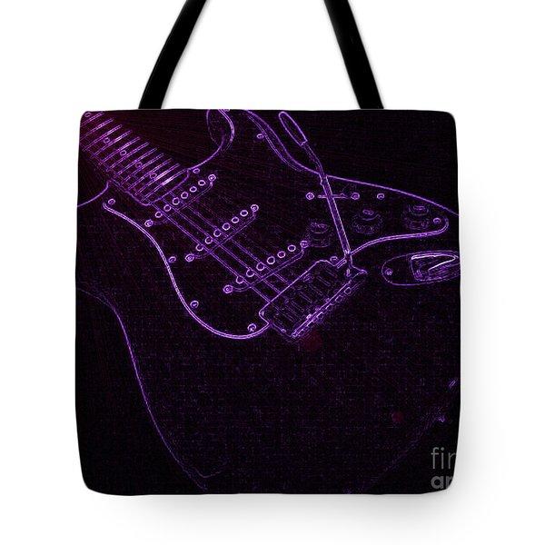 Deep Purple Tote Bag by Roxy Riou